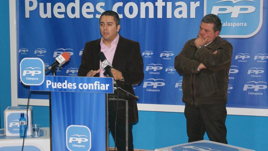 """Jesús Cano (PP) afirma en Calasparra (Murcia): """"Nuestros campos jamás volverán a pasar sed"""""""