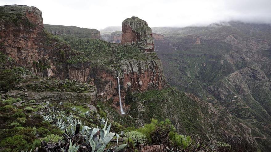 Gran Canaria tiene al menos tres años de agua de riego asegurados tras el paso de la borrasca Filomena