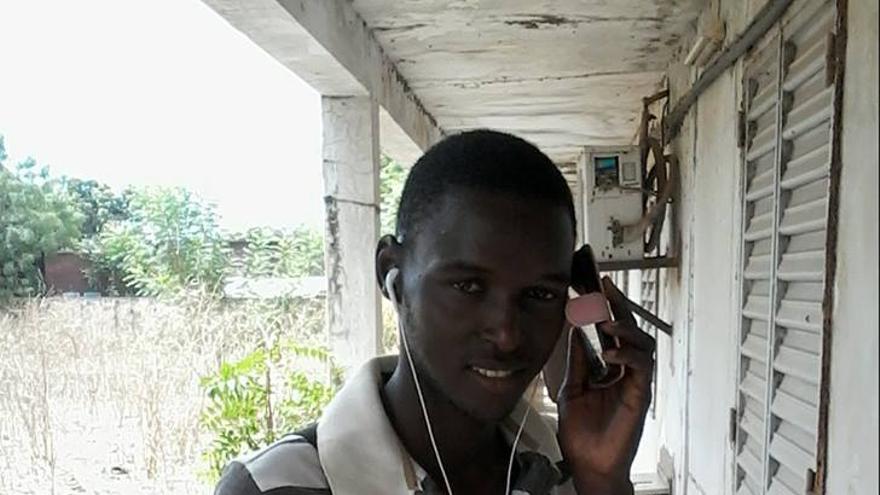 Goundo Wandianga tiene 21 años y en su aldea de Senegal ya no queda casi nadie // Facebook