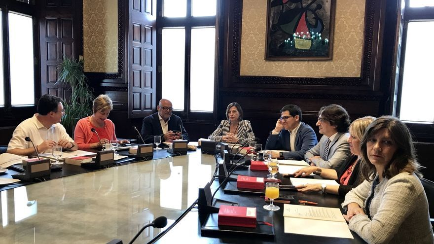 La Mesa del Parlamento catalán de este martes tampoco prevé abordar la ley del referéndum
