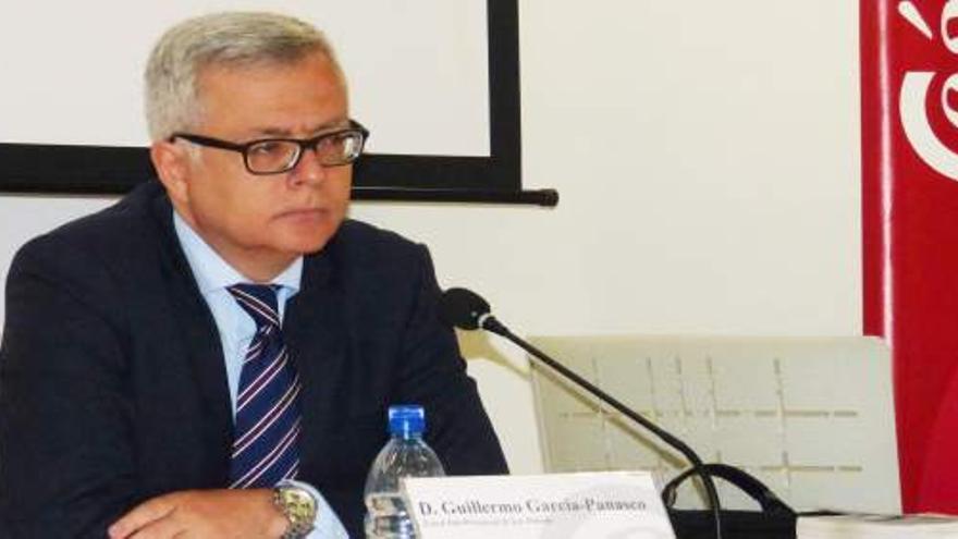 Guillermo García-Panasco. (CÁMARA DE COMERCIO DE LANZAROTE)
