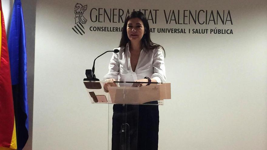La consellera valenciana de Sanidad, Carmen Montón