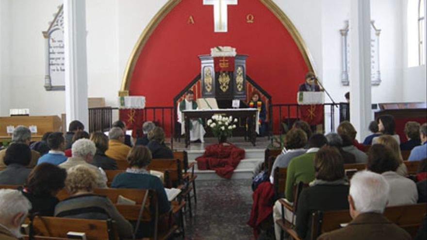 La Iglesia Evangélica El Buen Pastor de San Fernando (Cádiz) podría acoger la celebración / Foto: protestante.eu