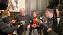 El alcalde de València, Joan Ribó, junto a la vicepresidenta del Consell, Mónica Oltra