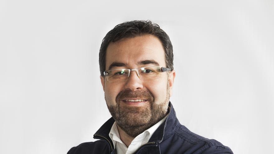 Ángel Alonso de Paz, portavoz del grupo Popular en el Ayuntamiento de Breña Alta.