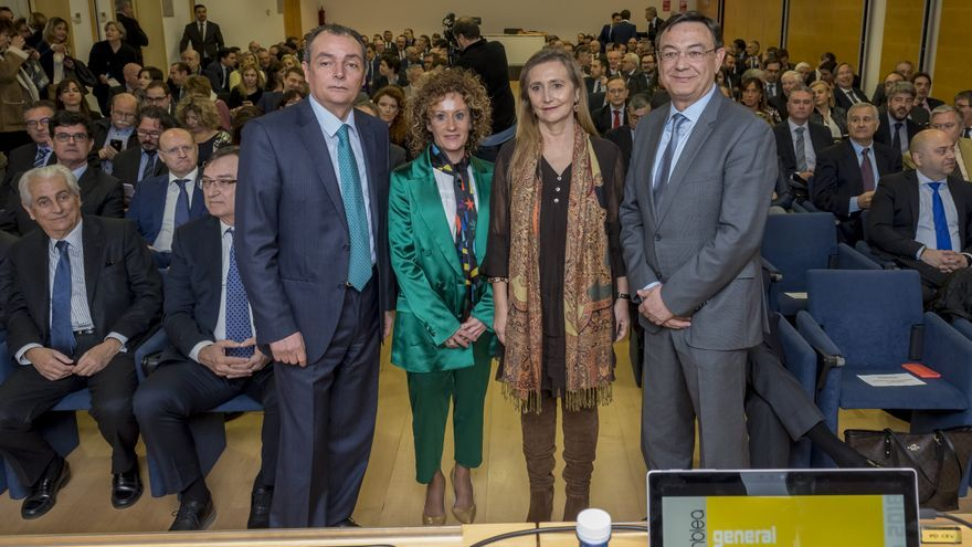 Salvador Navarro, Sebastián Pla, Eva Blasco y Rosana Perán