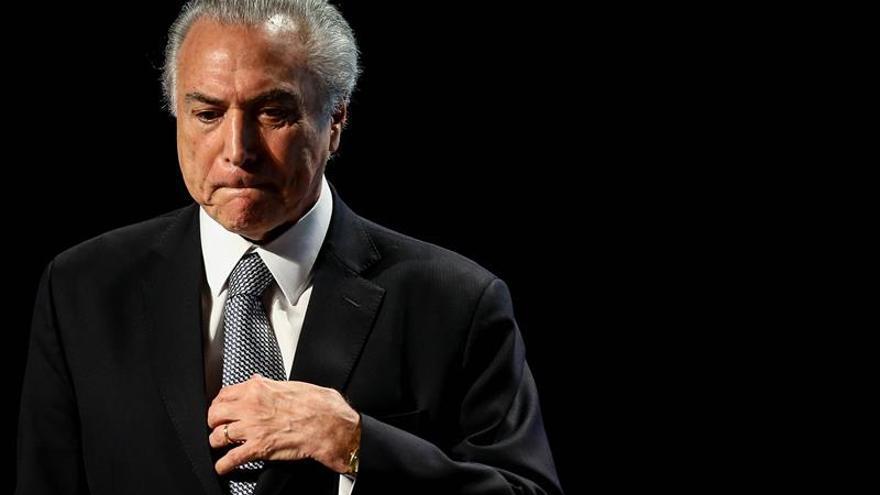 """Temer cree que el juicio que puede anular su mandato """"desestabiliza"""" a Brasil"""