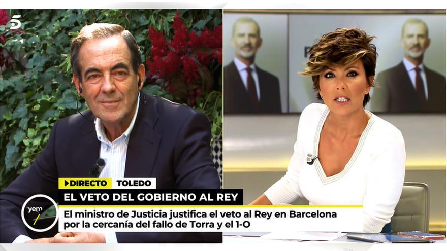 José Bono y Sonsoles Ónega en 'Ya es mediodía'