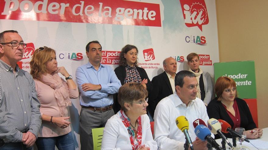 Pujante (IU-Verdes) anuncia su candidatura a la presidencia de Murcia y tiende la mano a Podemos
