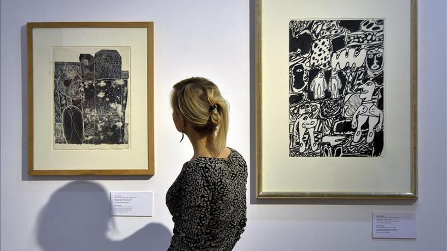 Una exposición recuerda a Jean Dubuffet en el 30 aniversario de su muerte