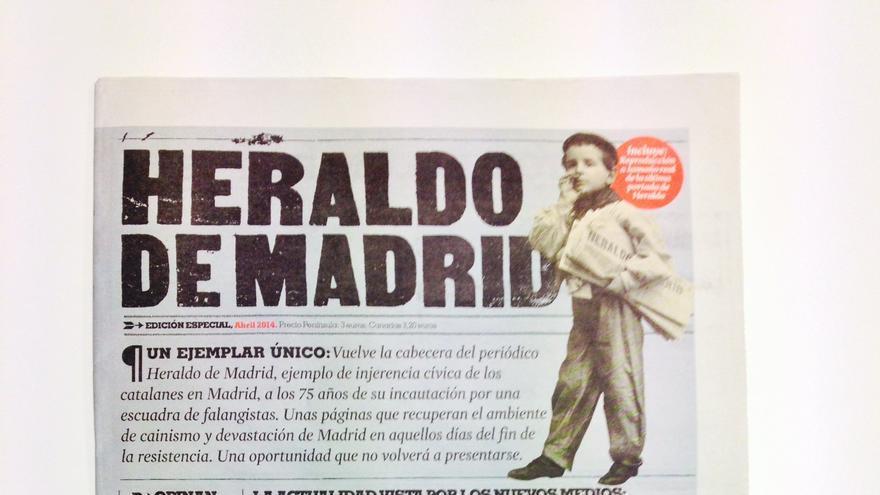 Portada del Heraldo de Madrid.