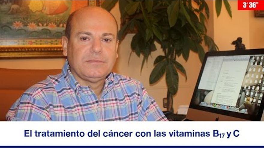 José Ramón Llorente, el curandero absuelto.