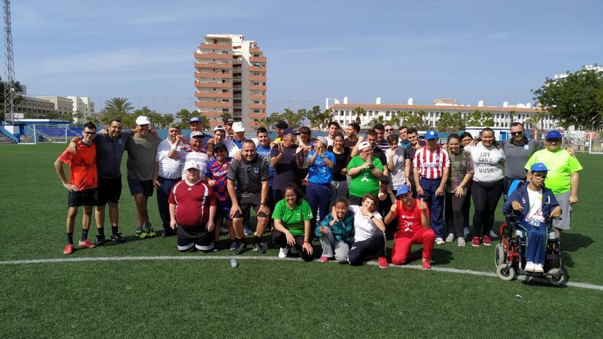 El encuentro tuvo lugar en el campo anexo al Estadio Antonio Domínguez.