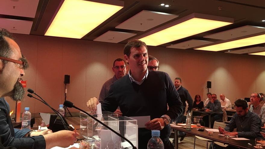 Rivera defiende los cambios en las listas electorales afirmando que se han cumplido los Estatutos