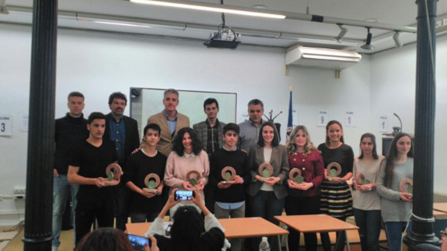Premiados en la Olimpiada Extremeña de Filosofía de este año