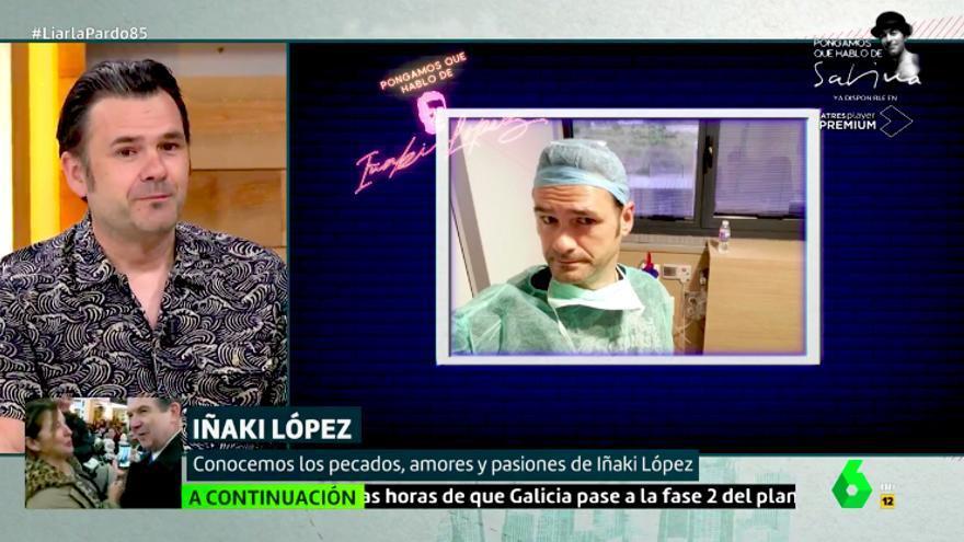 Iñaki López explicó el parto de Andrea Ropero