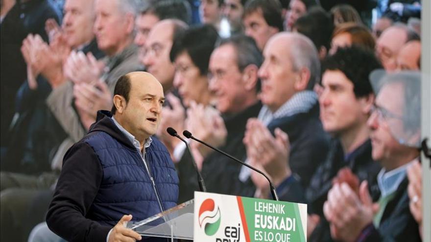 """Ortuzar (PNV): Nos sentimos """"extraterrestres"""" y """"ninguneados"""" en la campaña"""