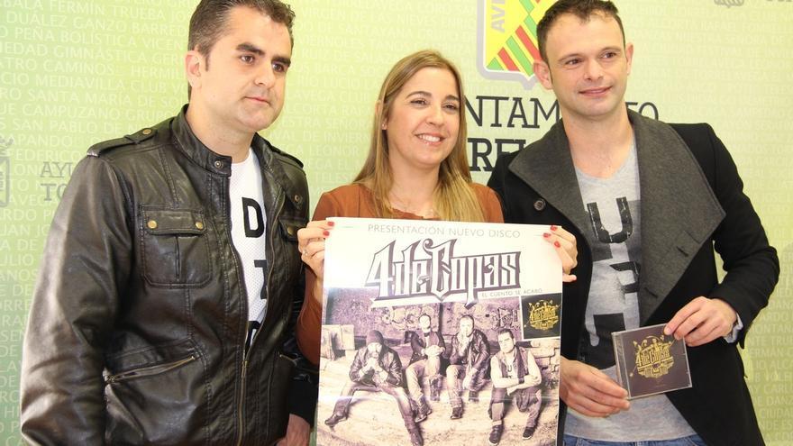 El grupo local '4 de Copas' presenta su último disco el 23 de mayo