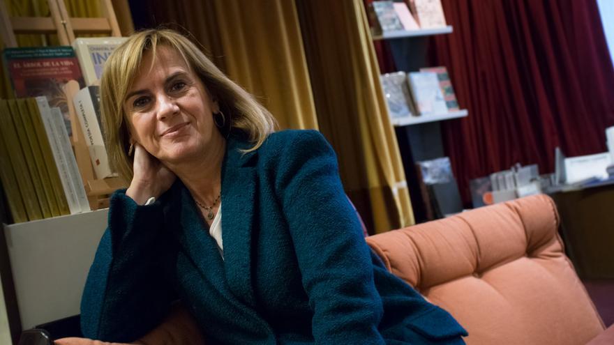 Gemma Nierga en la librería Nollegiu