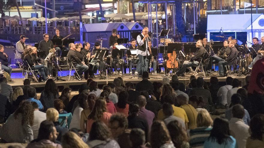 La Banda Sinfónica Municipal de Las Palmas de Gran Canaria