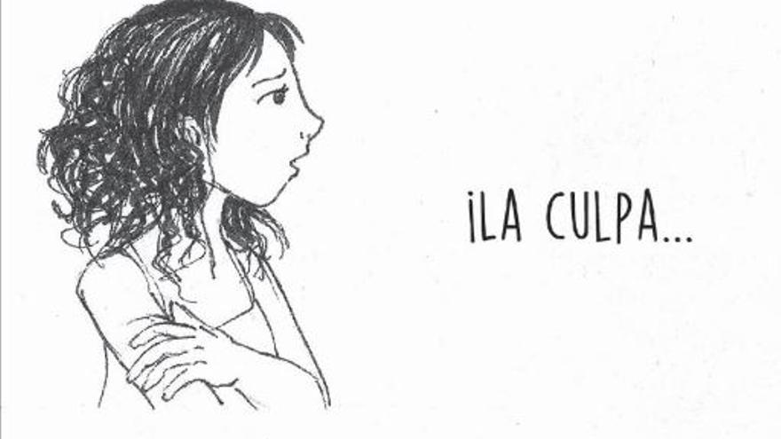 Viñeta del cómic 'Buscando Justicia', de Ana.   Imagen cedida por la Asociación Mujeres de Guatemala.