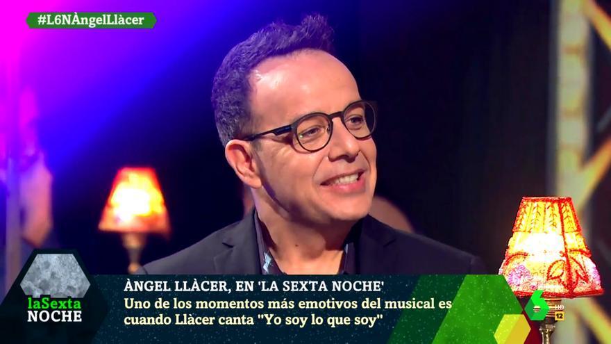 Ángel Llácer, en su entrevista con 'laSexta Noche'