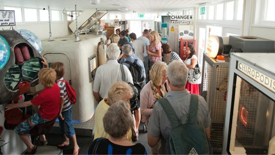 'Under The Pier Show', la primera sala de recreativos de Tim Hunkin