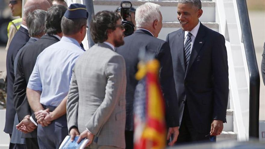 Obama parte de Torrejón a la Base de Rota, última escala de su viaje a España