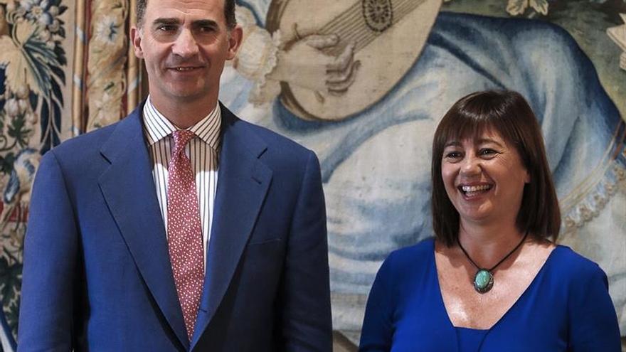 El Rey recibe hoy a las autoridades de Baleares al inicio de su estancia en Palma