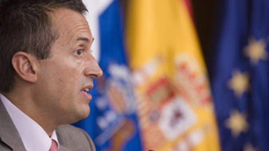 José Miguel Ruano, consejero de Presidencia, Justicia y Seguridad del Gobierno de Canarias.
