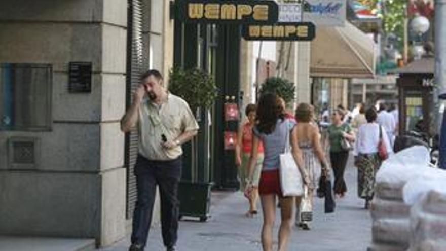 Las ventas del comercio minorista bajaron un 1,2% en la eurozona