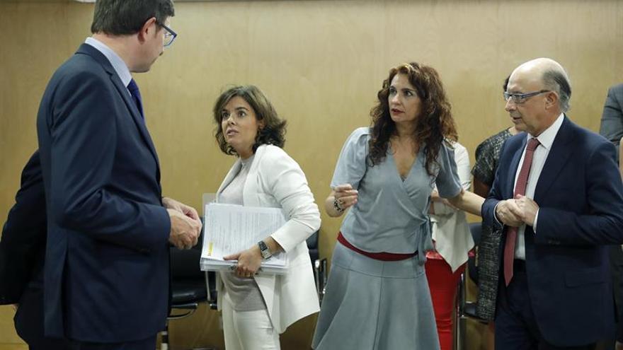 Aprobados los objetivos de estabilidad sólo con el apoyo del PP y de Canarias