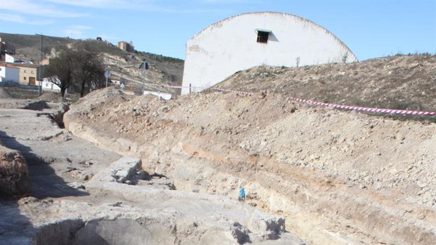 Excavaciones en las obras de El Cañavate / EUROPA PRESS