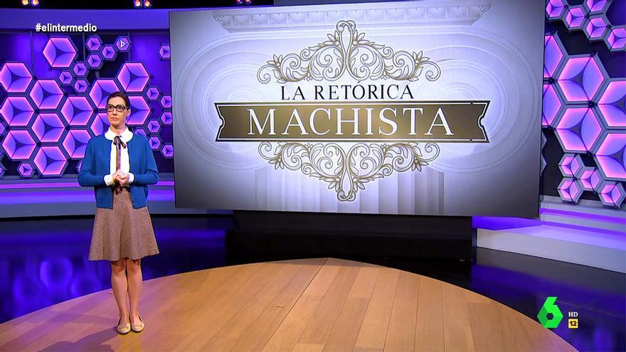 Cristina Gallego explica la retórica machista en 'El Intermedio'