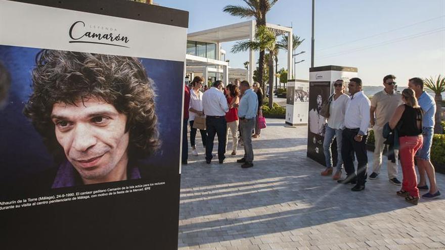 """La exposición """"25 años sin Camarón"""" continúa su recorrido en San Fernando"""