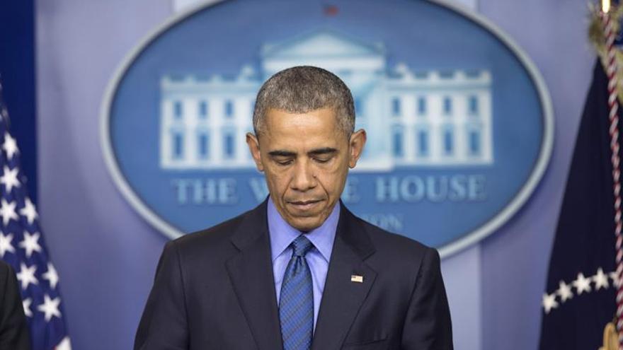 Obama conmemora el tiroteo contra una iglesia negra en Charleston