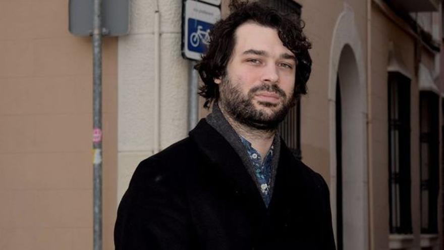 Aitor Romero Ortega, autor de `Fantasmas de la ciudad´