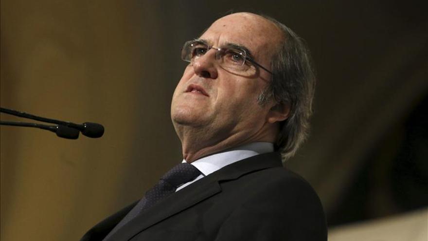 Ángel Gabilondo, candidato a la Comunidad de Madrid con un apoyo del 94,6 %