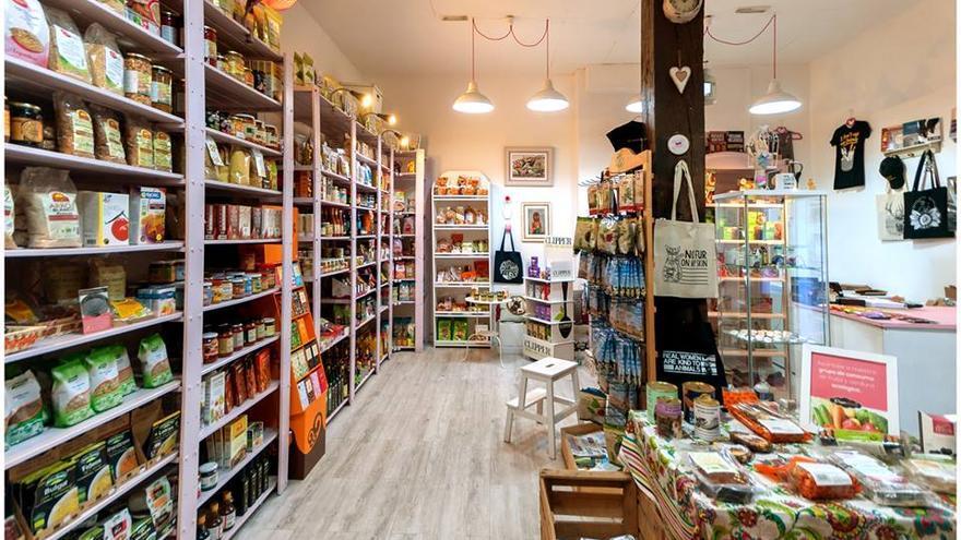 En Veggie Room se puede encontrar prácticamente cualquier producto vegano. Foto: Veggie Room