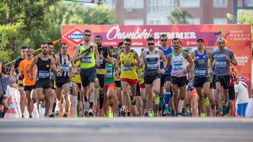 Salida de la prueba de atletismo   CHAMBERÍ SUMMER RACE