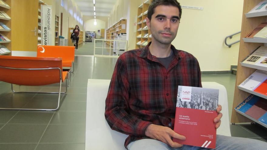 El historiador David Mota.