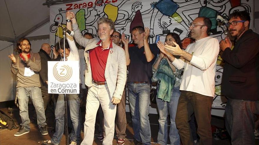 El PP gana en la capital aragonesa a un edil de diferencia con Zaragoza en Común