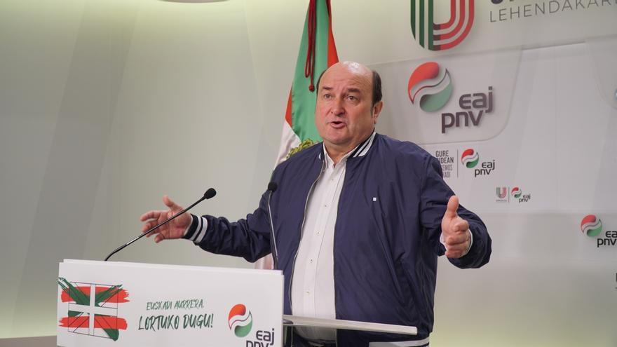 """PNV aboga por poner en marcha """"un gigantesco plan de país"""" en Euskadi para afrontar las consecuencias del coronavirus"""