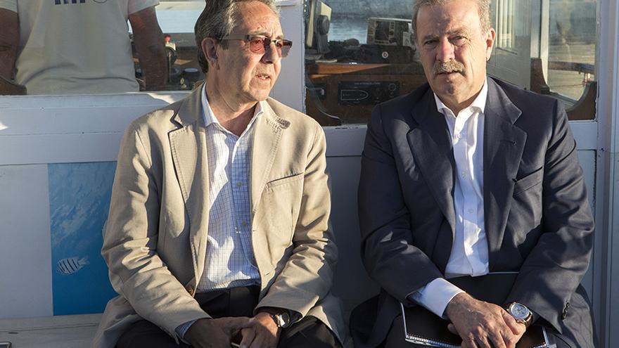 Manuel Campo Vidal y José Manuel Cervera /Foto: FTC