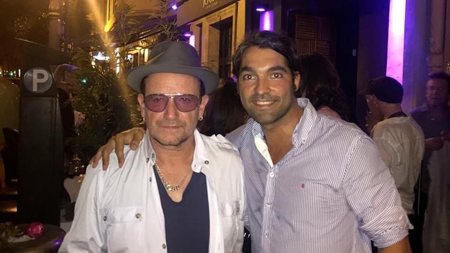 U2 de incógnito: Bono, The Edge y Adam Clayton, de fiesta privada en Valencia