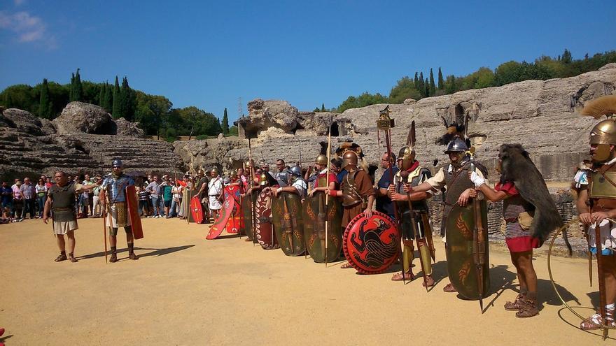 El pleno de Santiponce aprueba por unanimidad apoyar la candidatura de Itálica al patrimonio mundial