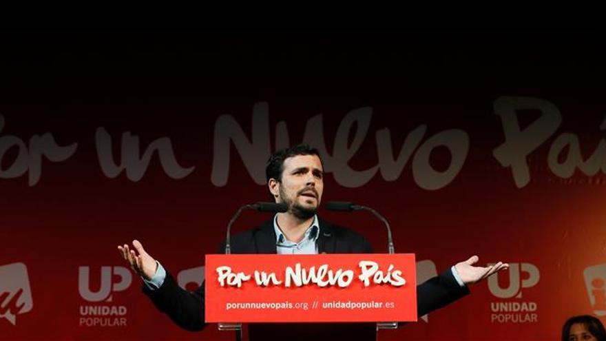 """Garzón reclama el voto """"fértil"""" de IU porque representa la lucha colectiva"""