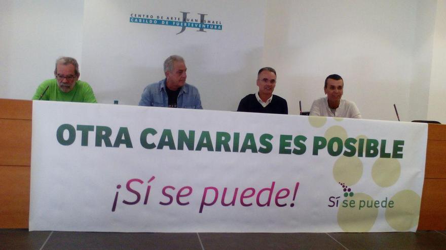 Constitución del germen de Sí Se Puede en Fuerteventura