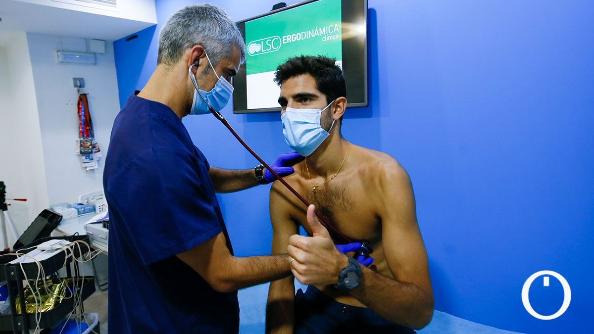 Reconocimiento médico a los jugadores del Córdoba CF