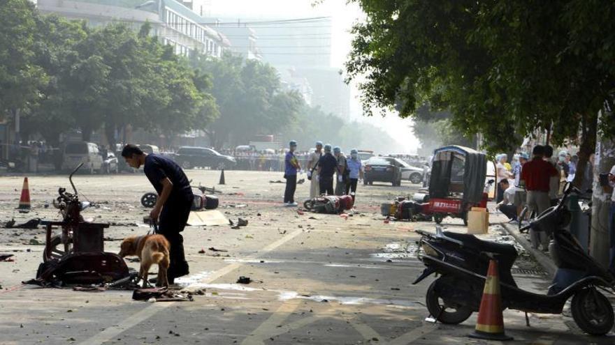 Una explosión causa 14 muertos y siete heridos en el centro sur de China